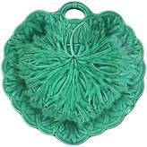 One Kings Lane Vintage Wedgwood Majolica Figural Leaf Plate