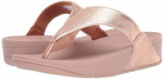 FitFlop Women's LULU Toe Post-Leather Flip-Flop