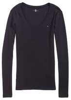 Tommy Hilfiger Long Sleeve Favorite V-Neck Tee