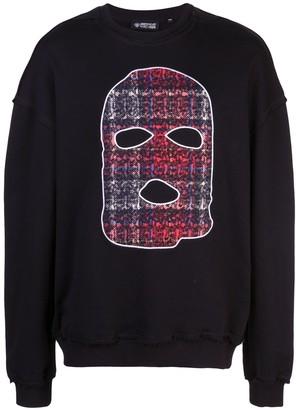 Mostly Heard Rarely Seen Hide and Seek print sweatshirt