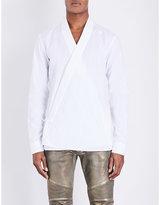 Balmain Kimono Cotton Shirt