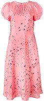 Valentino Swallow Metamorphosis dress - women - Silk/Spandex/Elastane - 42