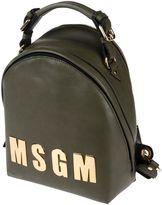MSGM Backpacks & Fanny packs