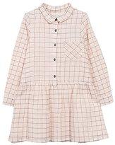 Jean Bourget Girl's Carreaux Lurex Dress