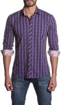 Jared Lang Long Sleeve Checkered Semi-Fitted Shirt