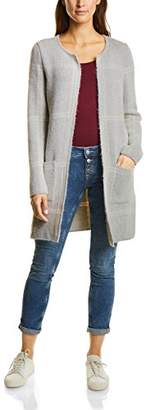 Street One Women's Long Cardigan Check Dessin(Size: 38)