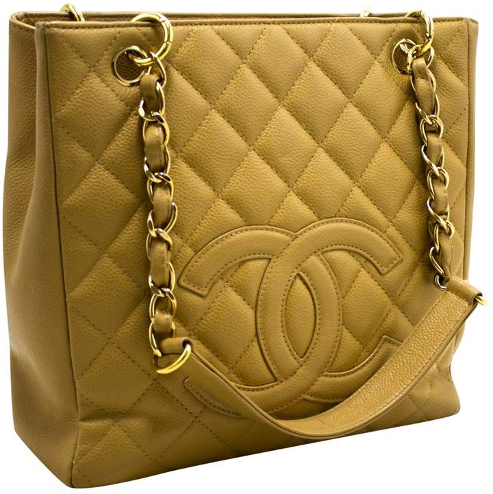 c7264bf88fa2 Chanel Petite Shopping Tote - ShopStyle