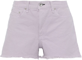 Rag & Bone Justine Frayed Denim Shorts