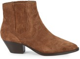Ash Falcon Suede Western Ankle Boots
