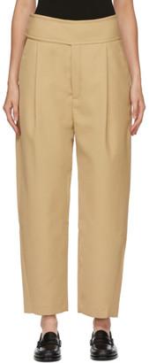 Totême Beige Lombardy Trousers