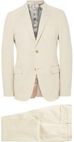 Gucci Ecru Monaco Slim-fit Stretch-cotton Suit