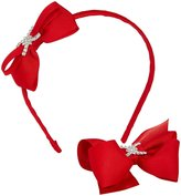 Wee Ones Bowtie Headband Bundle - Red-One Size