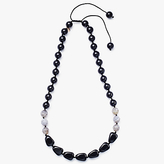 Lola Rose Agate Necklace, Black/Coffee