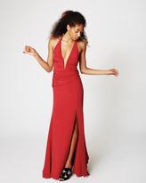 Nicole Miller Side Drape Gown