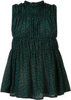 Marni gathered sleeveless blouse - women - Silk - 44