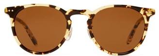 Garrett Leight Ocean 46 Round Acetate Sunglasses - Womens - Tortoiseshell