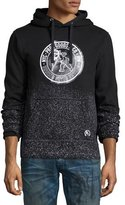 PRPS Logo-Patch Pullover Hoodie, Black