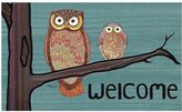 """Awesome Owls """"Welcome"""" Doormat"""