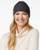 Anne Klein Fisherman Rib-Knit Cuff Hat