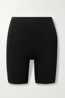 Ninety Percent Stretch Organic Cotton Jersey Shorts - Black