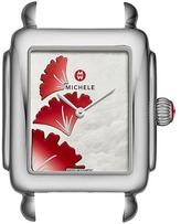 Michele Deco 16, Gingko Dial Watch Watches