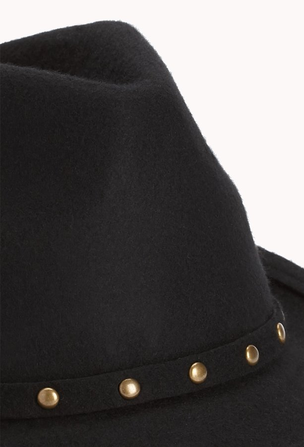 Forever 21 studded out fedora