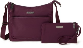 Baggallini Greenwich Crossbody Bag and Wristlet