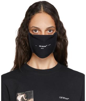 Off-White Black Logo Mask