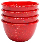 Zak Designs Confetti Prep Bowl Set - Red (4 pc.)