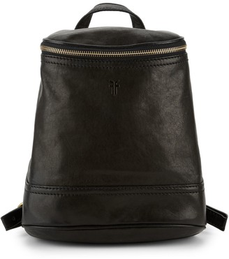 Frye Madison Zip Top Leather Backpack