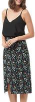 Sugarhill Boutique Enchanted Woodland Midi Skirt, Black/Multi