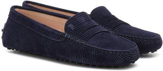 Tod's Gommino corduroy loafers