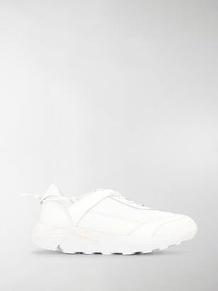 Comme des Garcons Flat Lace-Up Sneakers