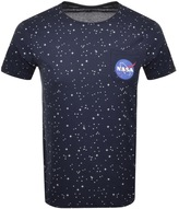 Alpha Industries Starry T Shirt Blue