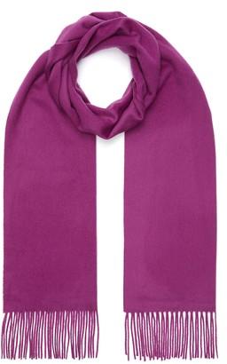 Johnstons of Elgin Fringe cashmere scarf