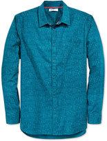 William Rast Men's Long-Sleeve Nine Iron Shirt
