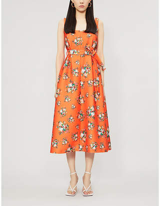 Emilia Wickstead Shaina floral-print woven midi dress
