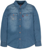 Levi's The Western Denim Shirt, Toddler Girls (2T-5T) & Little Girls (2-6X)