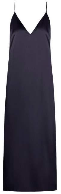 80f3455afb39c Navy Slip Dress - ShopStyle