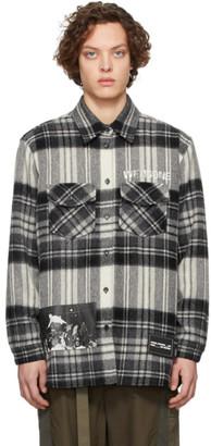 we11done Grey Check Shirt