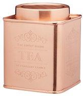 Kitchen Craft Le'Xpress Metal Tea Caddy, 10 x 12 cm - Copper Finish