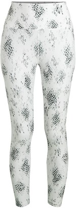 Nanette Lepore Cobra-Print Active Leggings