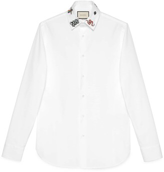 Gucci Cotton shirt with symbols