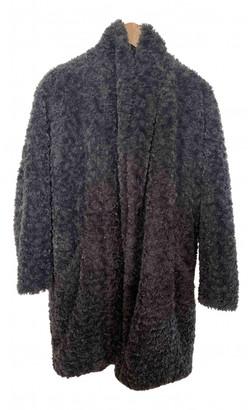 Etoile Isabel Marant Grey Faux fur Coats
