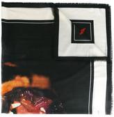 Givenchy rottweiler print scarf