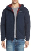 Arc'teryx Men's 'Atom Lt' Trim Fit Wind & Water Resistant Coreloft(TM) Hooded Jacket