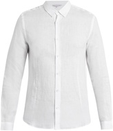 Orlebar Brown Morton point-collar linen shirt
