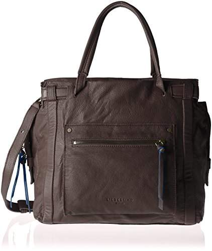Liebeskind Berlin Virginia Sporty, Women's Shoulder Bag, Braun (Eagle Brown), 42 x 45 14 cm (wxhxd)