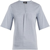 A.P.C. Camilla cotton-jersey top