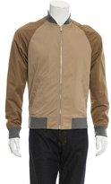 Michael Kors Colorblock Zip-Front Jacket